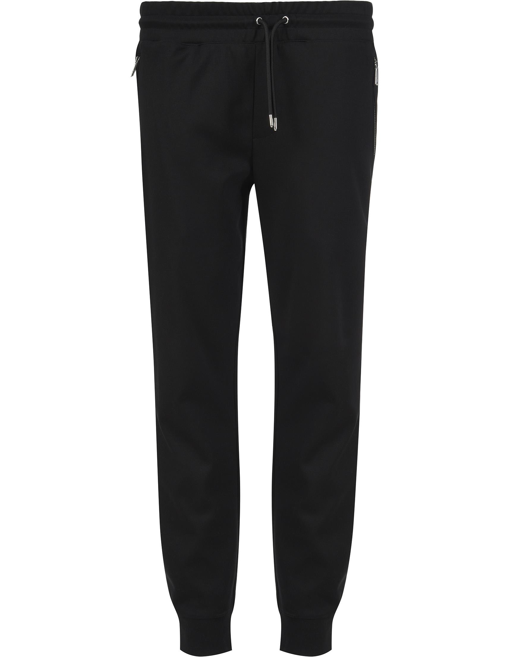 Купить Спортивные брюки, EMPORIO ARMANI, Черный, 100%Хлопок, Весна-Лето
