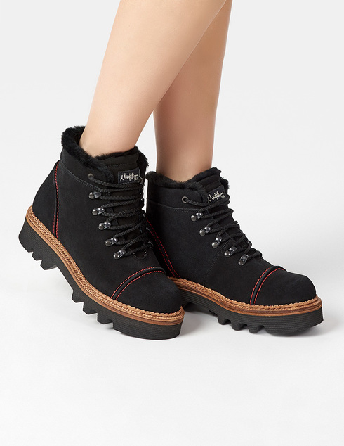 черные Ботинки Montelliana MNTL4_125_1
