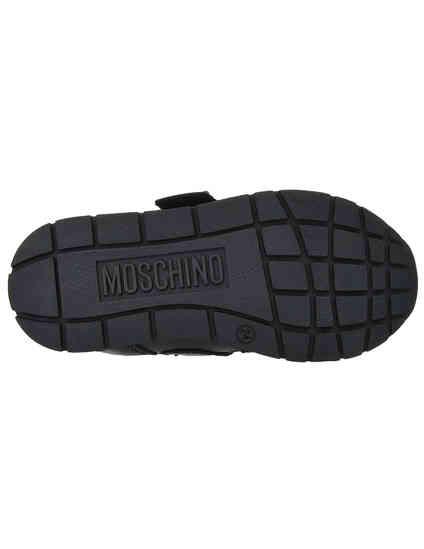 Moschino 26121-nero-rosso_black