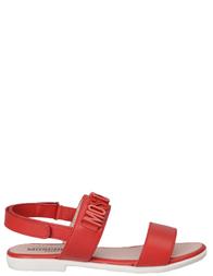 Детские сандалии для девочек MOSCHINO 25655_red