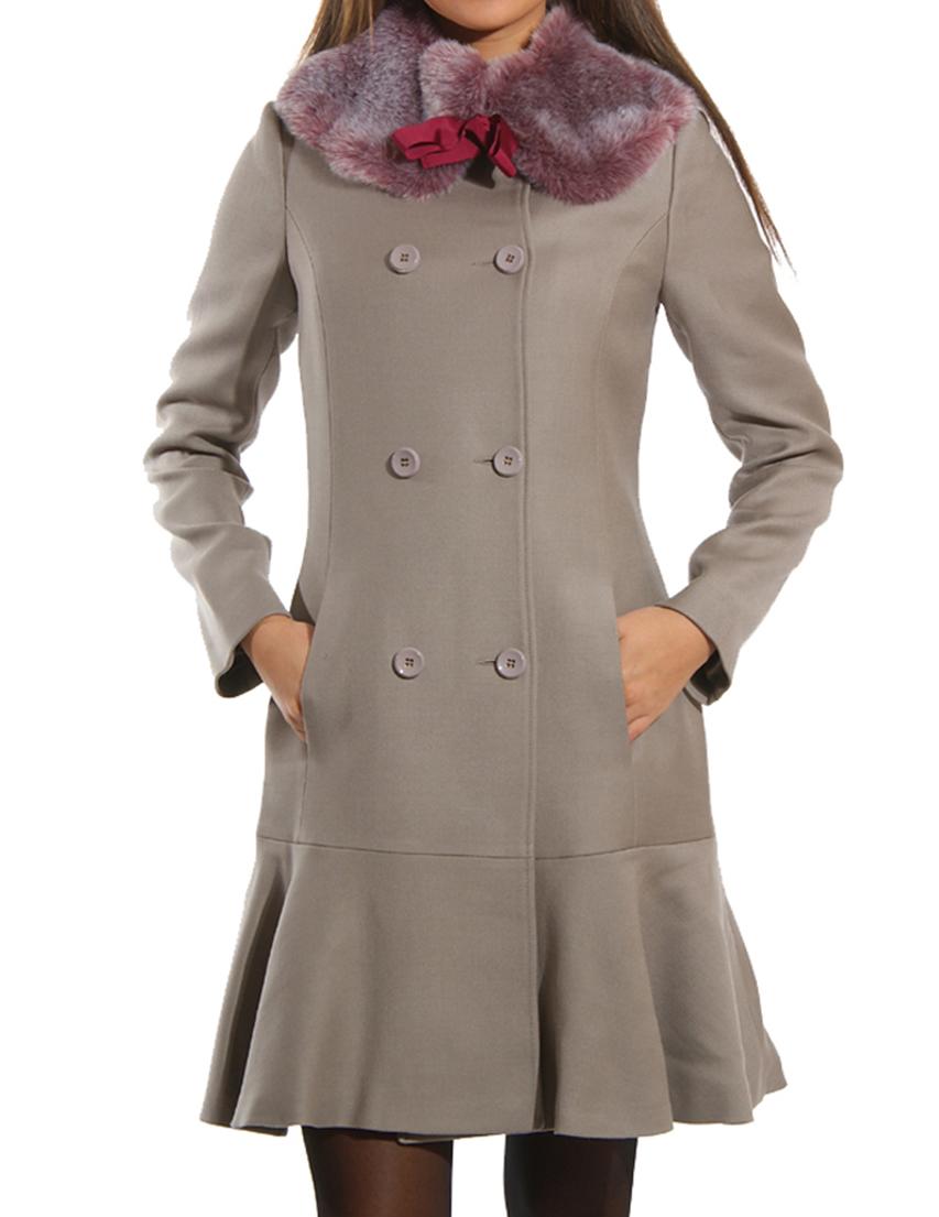Купить Пальто, GUESS BY MARCIANO, Серый, 40%Акрил 60%Лана, Осень-Зима