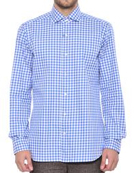 Мужская рубашка BARBA NAPOLI K1U13H516403X_blue
