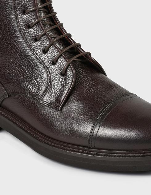 мужские коричневые кожаные Ботинки Henderson Baracco AGR-81521.M.0 - фото-5