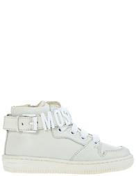 Детские кроссовки для девочек Moschino 25808-bianco_white