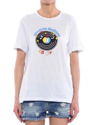 Женская футболка 10X10ANITALIANTHEORY AN26M232-A--white
