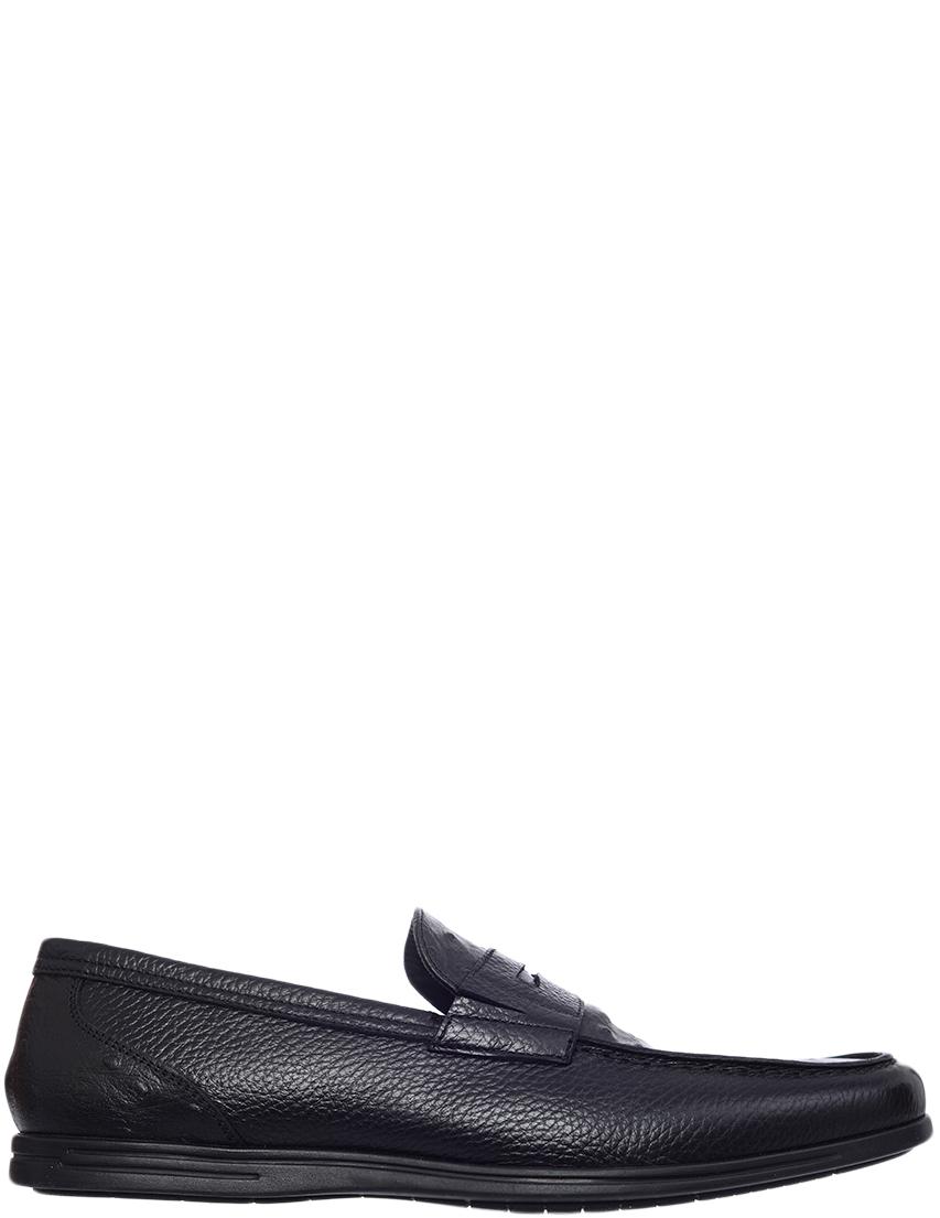 Мужские лоферы Giovanni Conti 2806-01_black