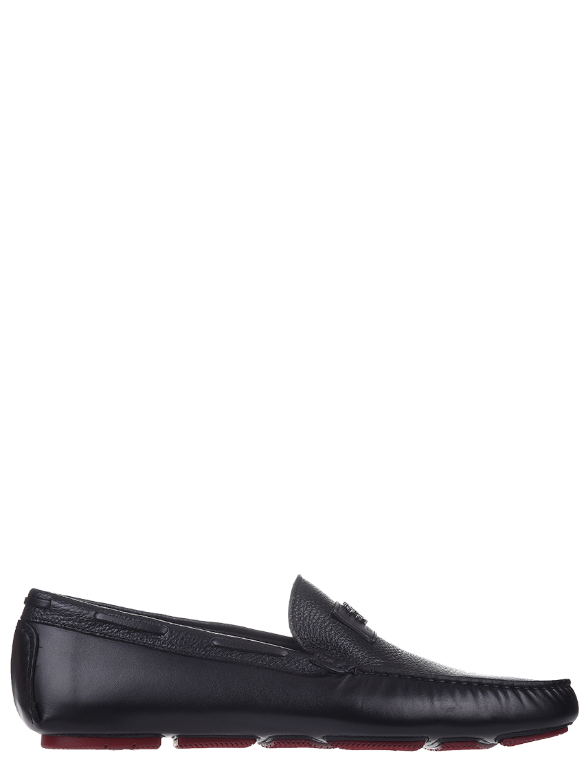 Мужские мокасины Roberto Cavalli AGR-4292-black