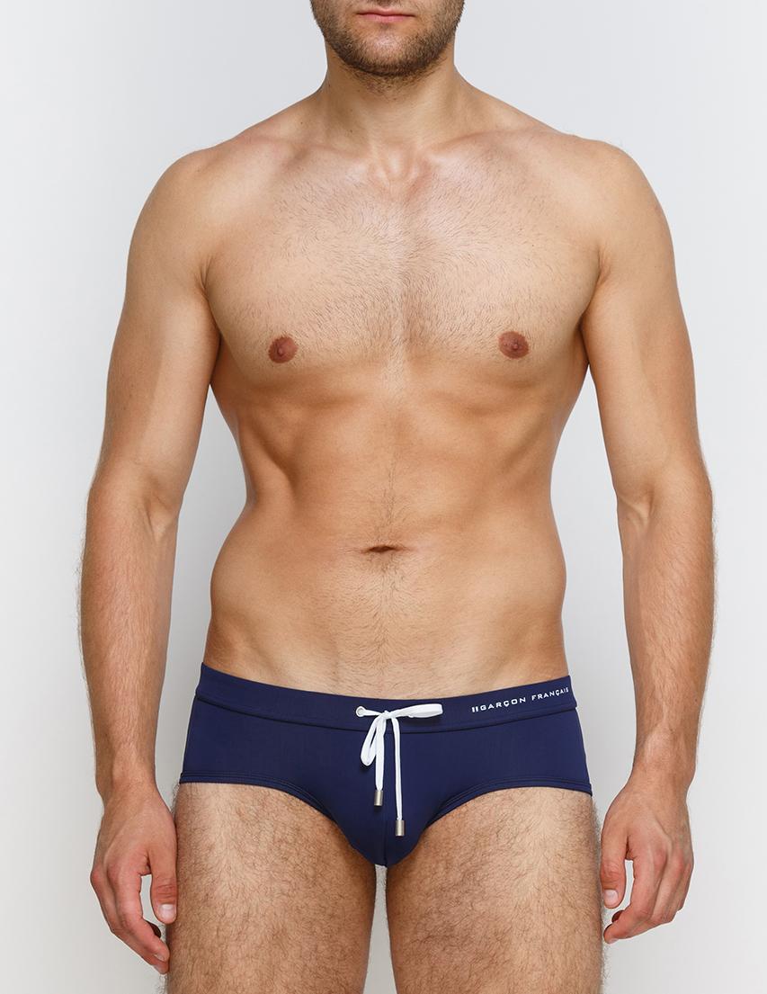 Мужские плавки пляжные GARCON FRANCAIS Slip-de-Bain17-Bleu-Marine-Marine_blue
