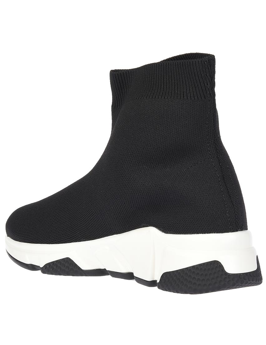 Текстильные чёрные кроссовки GIANNI RENZI (ITALY)