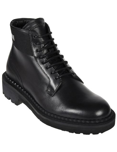черные Ботинки Emporio Armani X4M328-XM071-D267