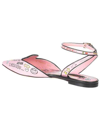 розовые женские Босоножки Dolce & Gabbana 0251-946-52_pink 11875 грн