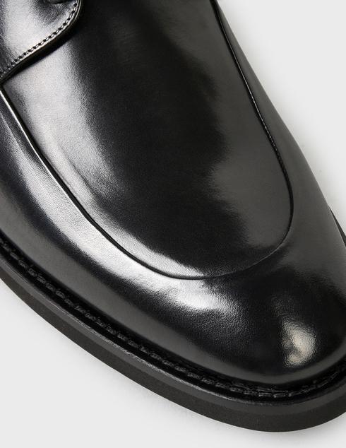 мужские черные кожаные Дерби Baldinini U2B202PARM0000 - фото-5