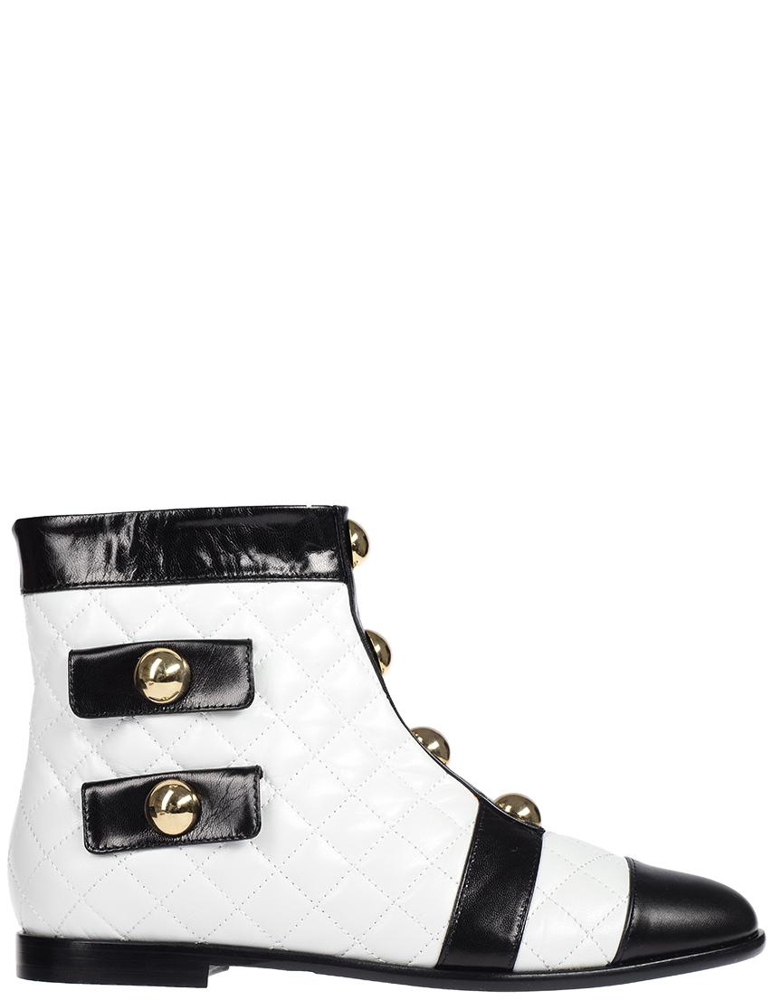 Женские ботинки Moschino S21021_white