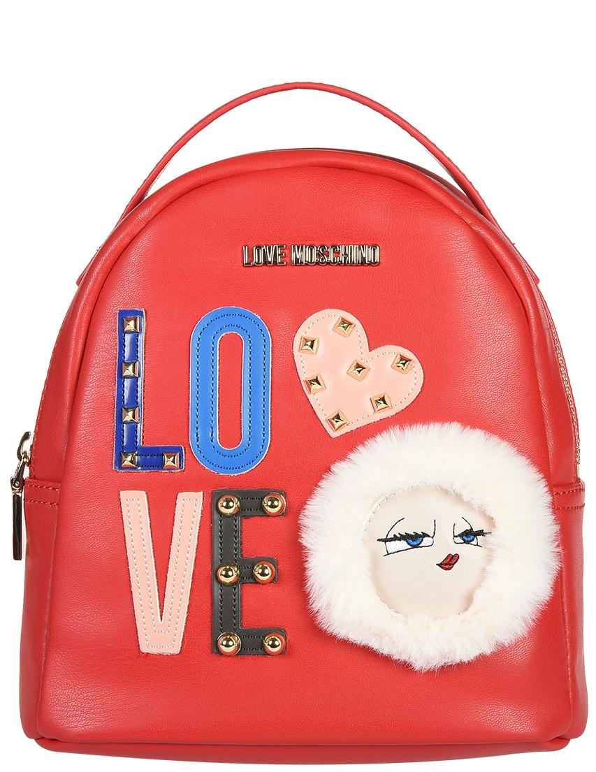 Рюкзак Love Moschino 4273_red