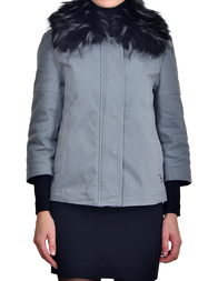 Женская куртка TRUSSARDI JEANS 56S110-3161_gray