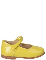 Детские туфли для девочек DOLCE & GABBANA D10002_yellow