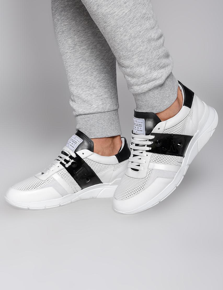 Мужские кроссовки John Richmond 4106-white