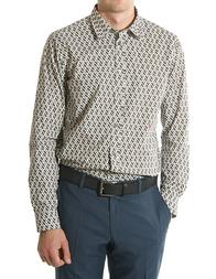 Мужская рубашка LOVE MOSCHINO Р-black36