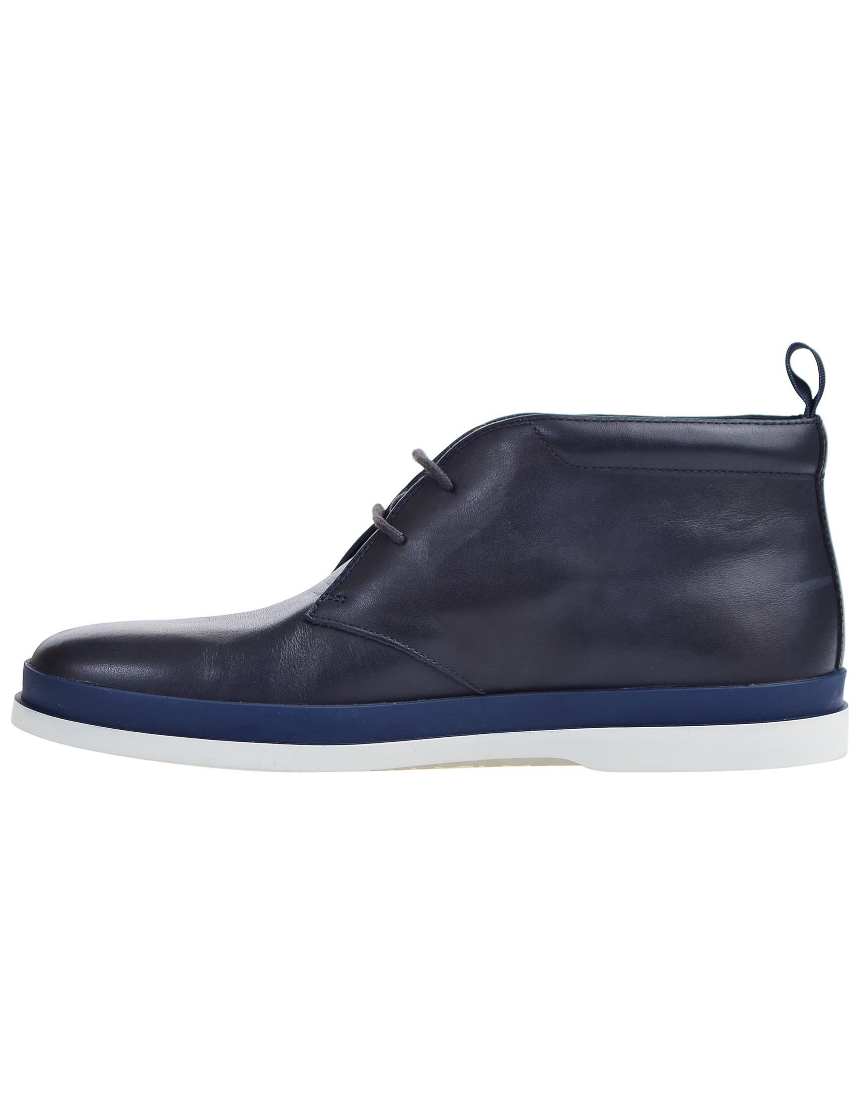 Фото 5 - мужские ботинки и полуботинки  синего цвета
