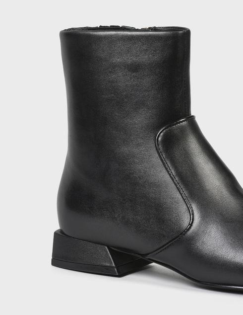 женские черные Ботинки What For FW20WF098 - фото-6