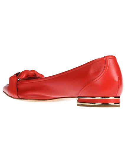 красные женские Балетки Casadei 1A091K0101Y266736 14562 грн