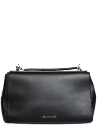 Женская сумка Love Moschino 4256-silver_black