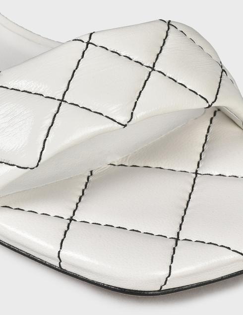 женские белые кожаные Босоножки Loriblu AGR-1EM3002500 - фото-5