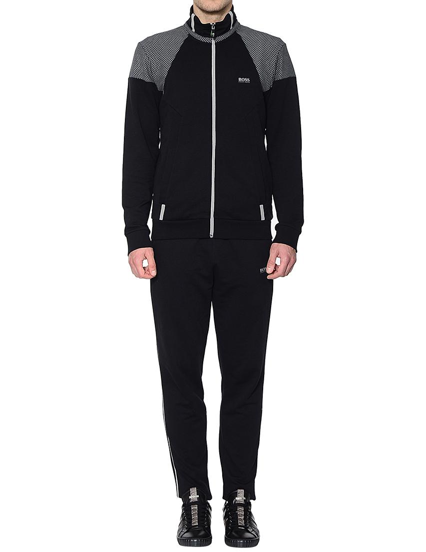 Купить Спортивные костюмы, Спортивный костюм, HUGO BOSS, Черный, 100%Хлопок, Осень-Зима