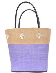 Женская пляжная сумка LE COMPTOIR DE LA PLAGE Shelly-Bleu-Marine-018