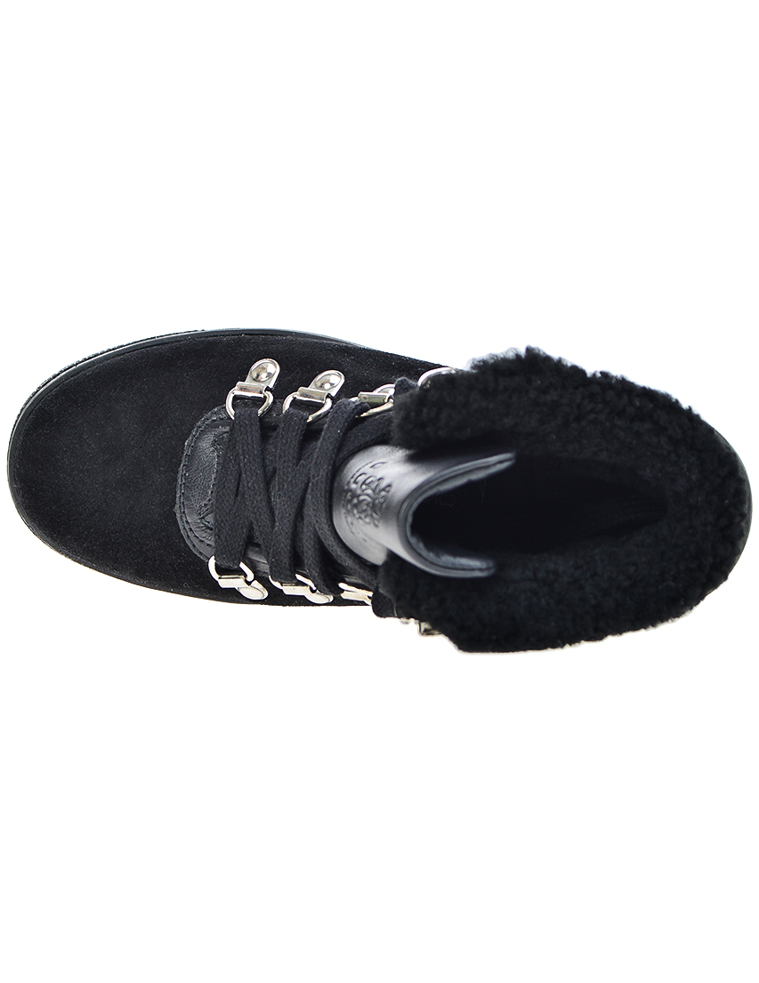 Фото 5 - Ботинки черного цвета