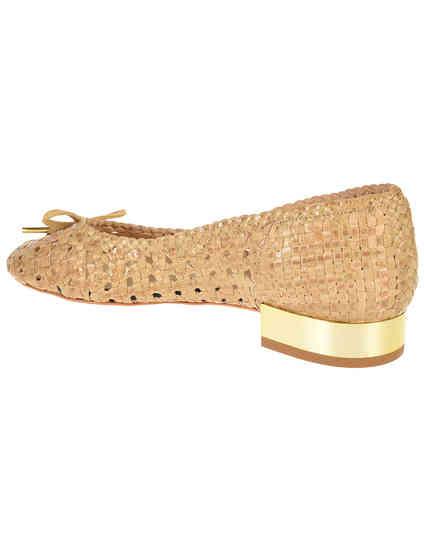 бежевые женские Балетки Trussardi Jeans 79S576-05_beige 2645 грн