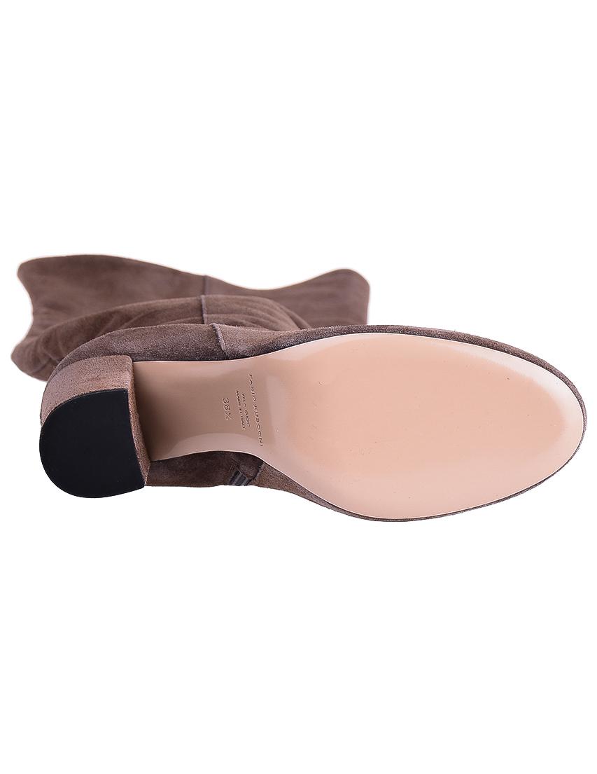 Фото 6 - женские ботфорты  коричневого цвета