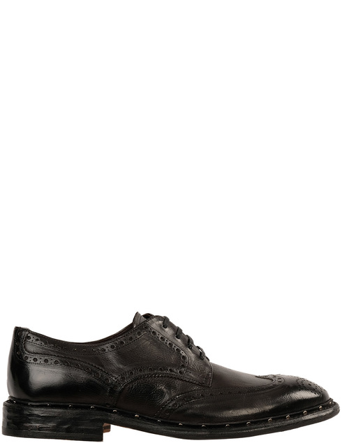 мужские черные Дерби Pertini 191M60055D1 - фото-2