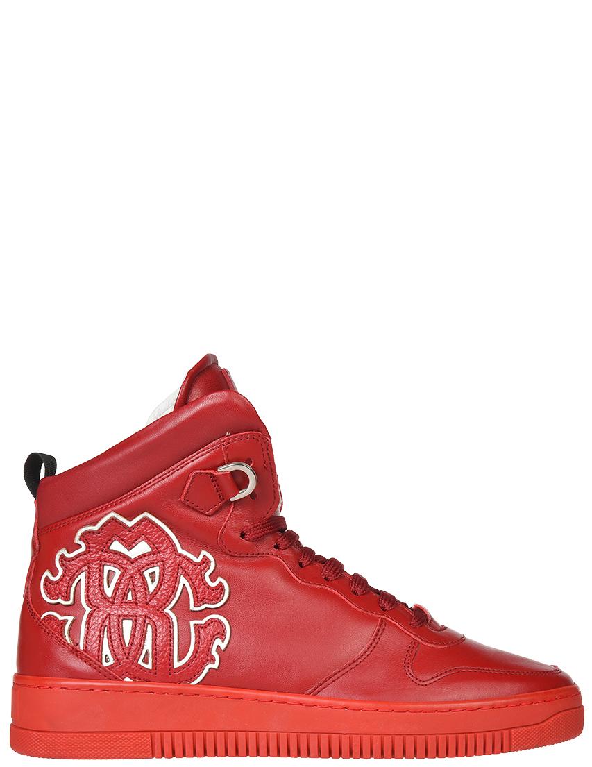 Мужские кроссовки Roberto Cavalli 5257К_red