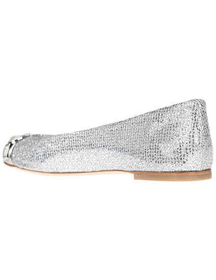 серебряные женские Балетки Casadei 084_silver 9580 грн