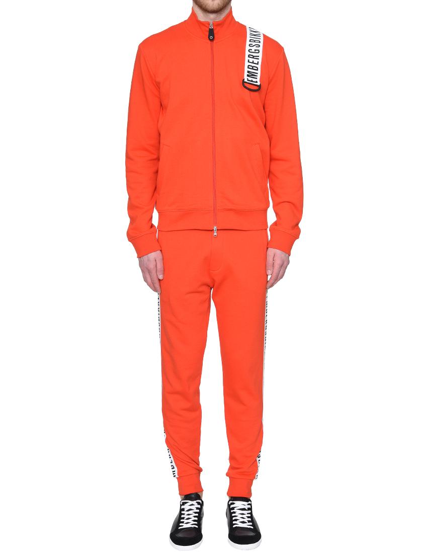 Купить Спортивный костюм, BIKKEMBERGS, Оранжевый, 100%Хлопок, Весна-Лето