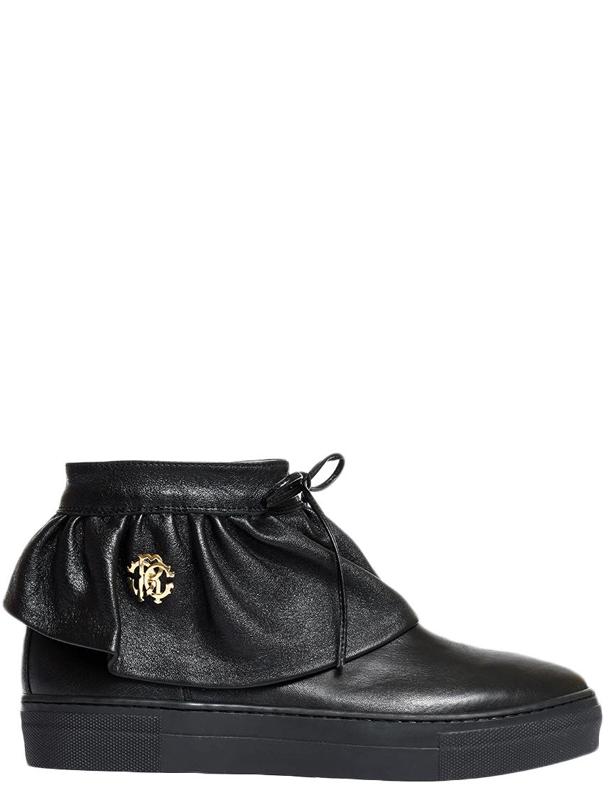 Женские ботинки Roberto Cavalli 50633_black