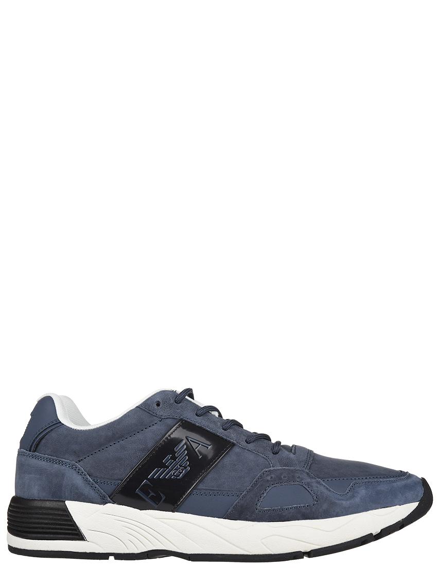 Мужские кроссовки Emporio Armani AGR-4220_blue