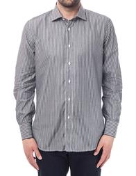 Мужская рубашка BALMAIN P-50_gray