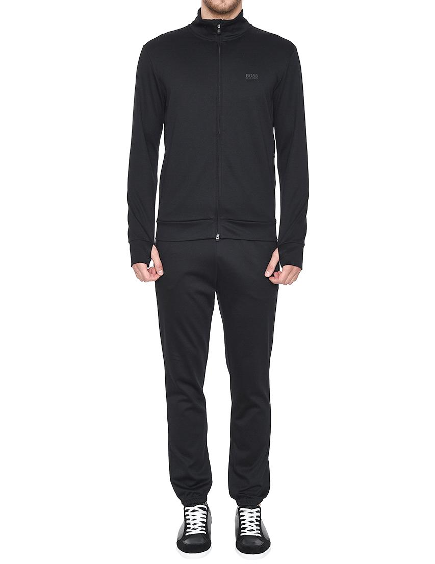 Купить Спортивный костюм, HUGO BOSS, Черный, 82%Хлопок 18%Полиэстер, Весна-Лето