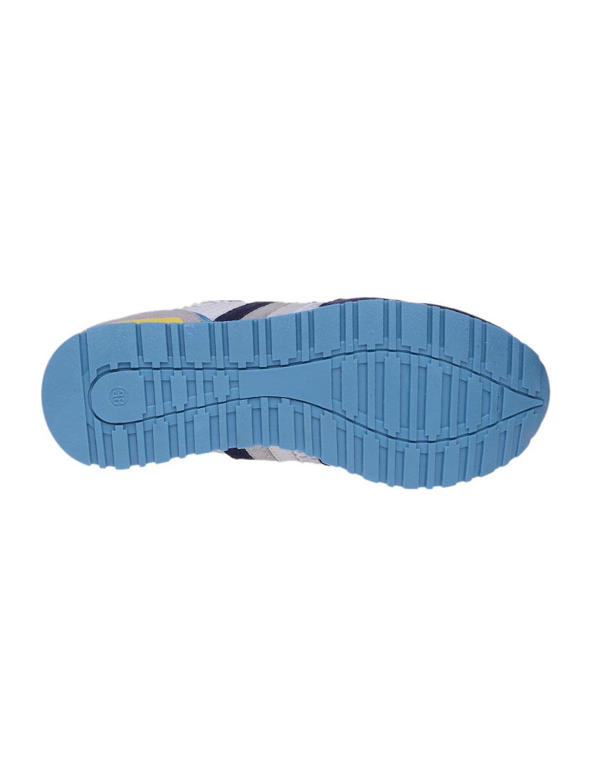Текстильные цветные кроссовки SERAFINI (ITALY)