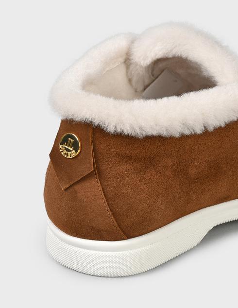 женские коричневые замшевые Ботинки Loriblu AGR-1I29502522-740MO - фото-5