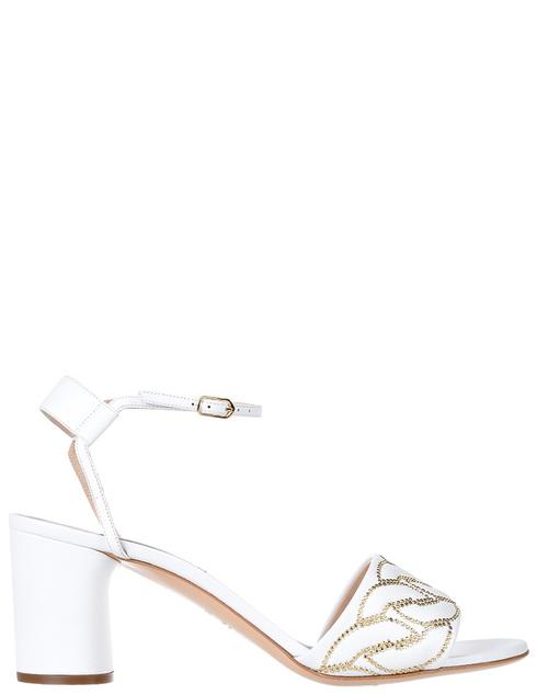 женские белые Босоножки Casadei AGR-594-white - фото-6