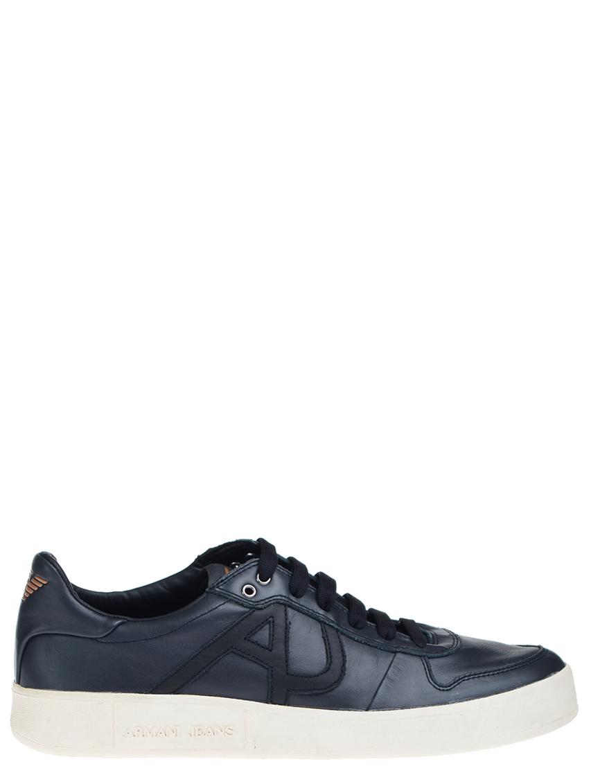 Мужские кроссовки ARMANI JEANS 6516_black
