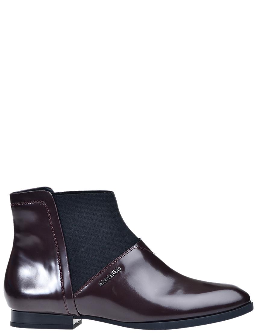 Купить Ботинки, CALVIN KLEIN COLLECTION, Бордовый, Осень-Зима