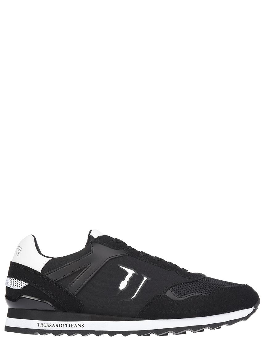 Мужские кроссовки Trussardi Jeans 00109-K308_black