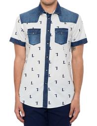 Мужская рубашка TRUSSARDI JEANS 52C50-01
