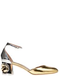Женские босоножки Casadei N125_gold