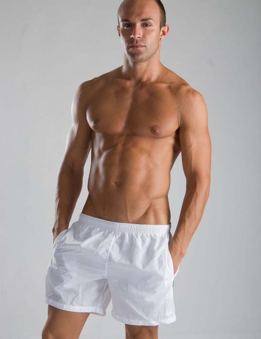 Мужские шорты пляжные GERONIMO P300 5white