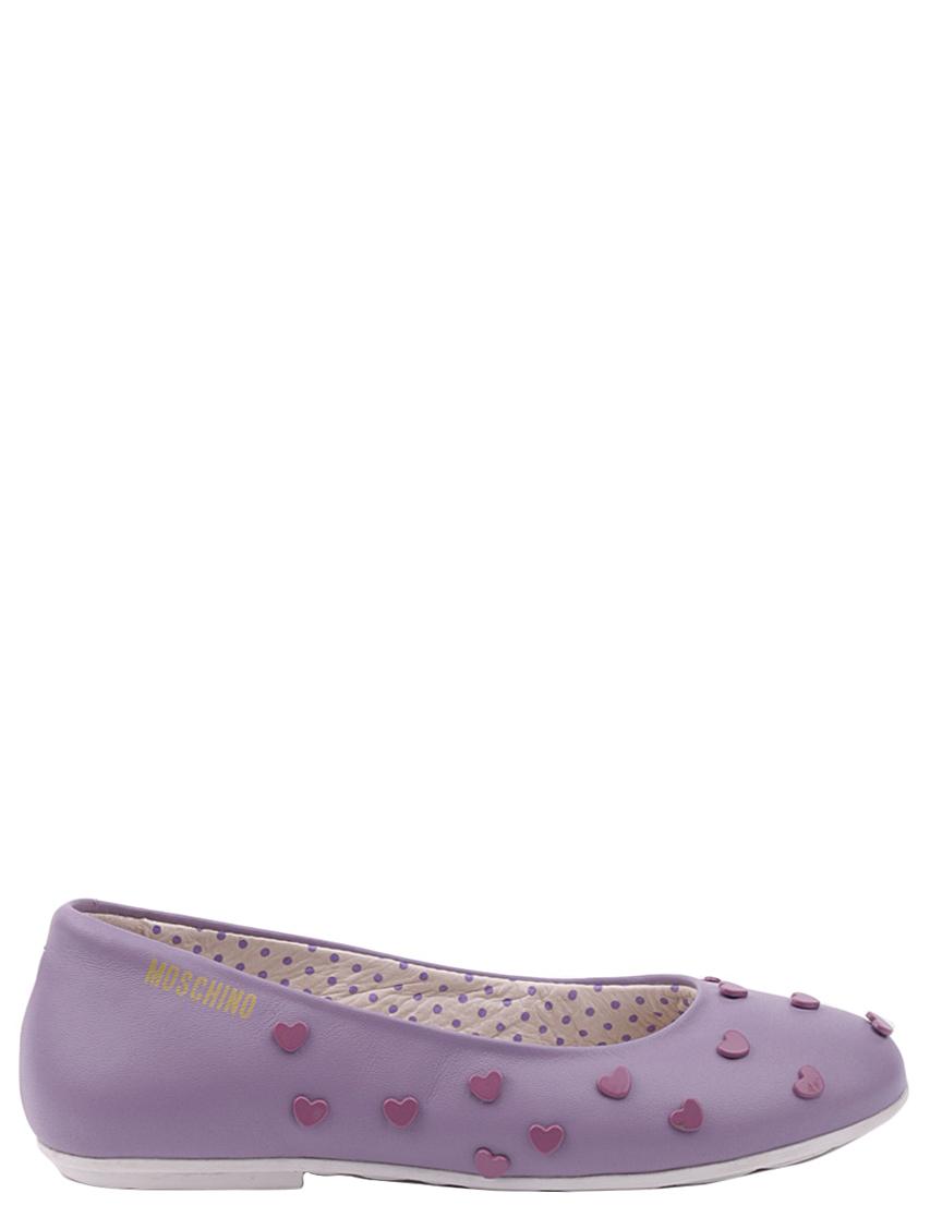 Детские туфли для девочек MOSCHINO 25461-lilac